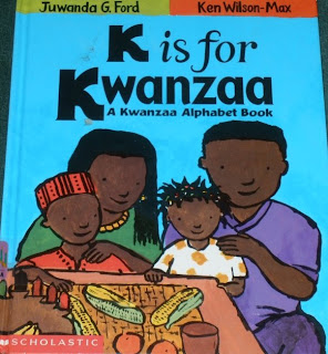 Cover of 'K is for Kwanzaa' by Juwanda Ford