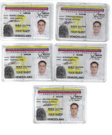 DELINCUENTE ELECTORAL 5 CEDULAS DE IDENTIDAD