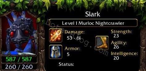 Murloc Nightcrawler Slark The Unfinished Hero DotA Blog