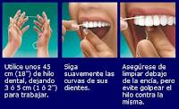 uso hilo dental