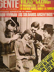 Fotomontaje de la Revista Gente (1981) .