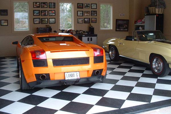Whips and decor lavish garage for tha rich part 2 for Custom garage workshop