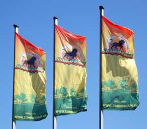 summerjam drapeaux
