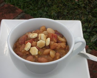 Delicious bean soup, great way to use up leftover ham, too