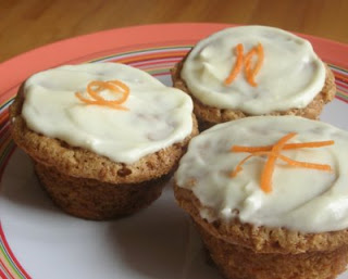 Carrot cake flavor with perfect cupcake texture