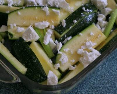 Roasted Zucchini with Feta ♥ | A Veggie Venture: Roasted Zucchini ...