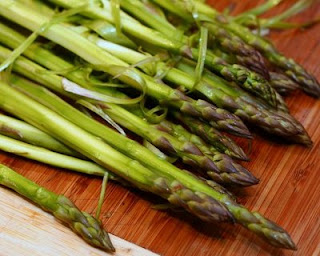 Do peel the asparagus for this dish