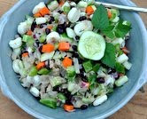 New-Fashioned Sauerkraut Salad