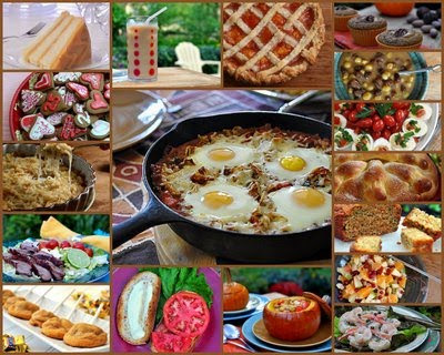 A selection of Kitchen Parade recipes from 2010