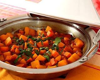 Sweet Potato & Butternut Squash Tagine
