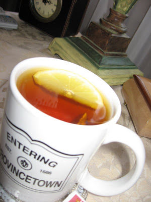 Is there anything better in the world that a cup of hot tea with fresh lemon?
