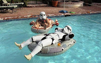 Stormtroopers in a pool