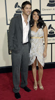 Eric Winter and Roselyn Sanchez Grammy's '08