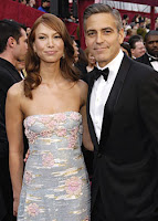 George Clooney and Sarah Larson Oscar's '08