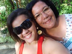 Eu e minha mae que eu amo muito