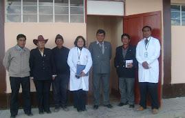 INAUGURACON DEL DEPARTAMENTO MEDICO ESCOLAR