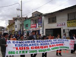 ORGANIZADORES DE LA DANZA ESCOLAR 2006