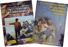 LIBROS PUBLICADOS POR EL ACTUAL DIRECTOR DE LA ESCUELA