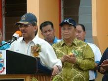 Lawatan Ketua Menteri Sabah Ke Daerah Tungku Pada 14hb. Februari 2009