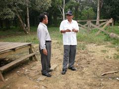 Lawatan Datu Baniamin dan ADO Tungku ke Kg. Tulibas kecil dan Kg. Bualan
