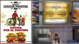 Texican Whopper local more adwords
