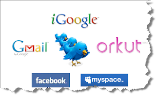 twitter facebook gmail