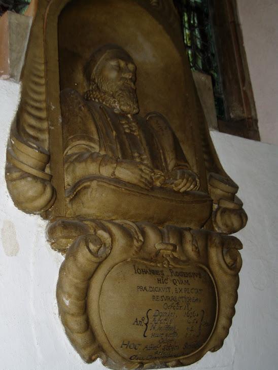 Bust of John Roaring Rogers