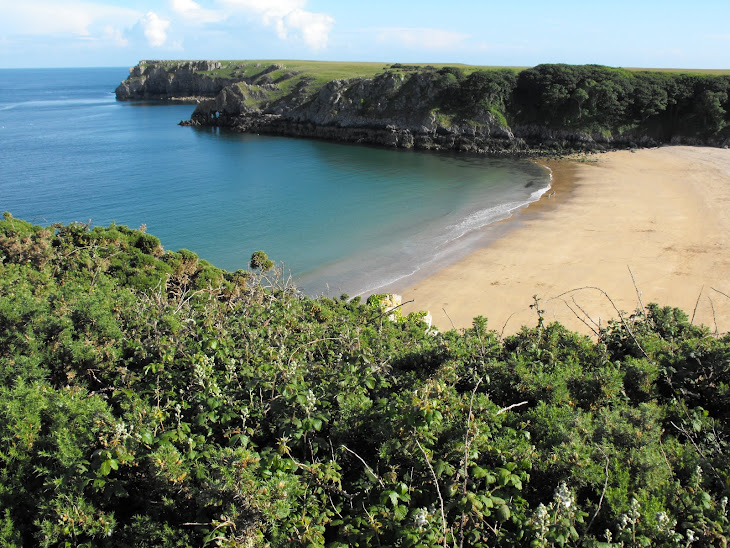 Beautiful Barafundle Bay