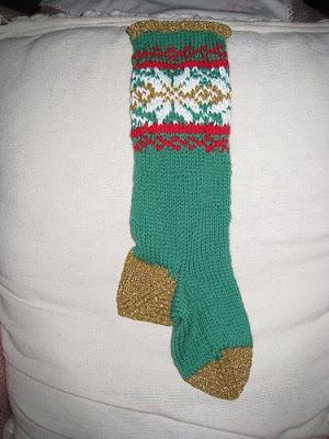 Best Free Crochet » Lace Christmas Stocking – Free Crochet Pattern