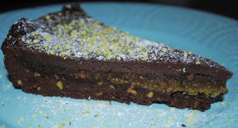 Chocolate Pistachio Tart – week 34 :)