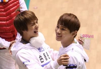 [News] Afeto de Key e Dongwoon, do B2ST, no Idol Star Atletics? Tumblr_lfiusfy32l1qcl8qx