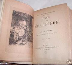 """""""Contes de la chaumière"""", 1894. Illustration de Jean-François Raffaëlli."""