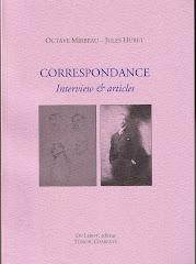 """Correspondance Mirbeau - Jules Huret, 2009"