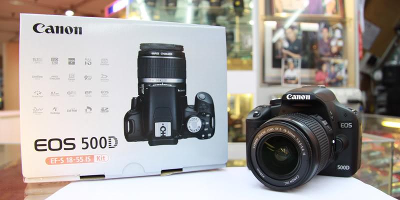 SALE ELECTRONIK KALIMANTAN Canon Eos 500d