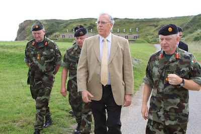 MEDIA IMAGES Minister Killeen Visits Gormanston Camp