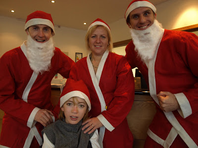 MEDIA IMAGE Limerick And Ennis Santa Fun Runs