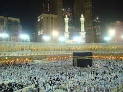 Suasana di Masjidil Haram....