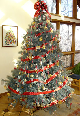 A Family Tree of Holidays - Christmas Trees: Hallmark Christmas Trees
