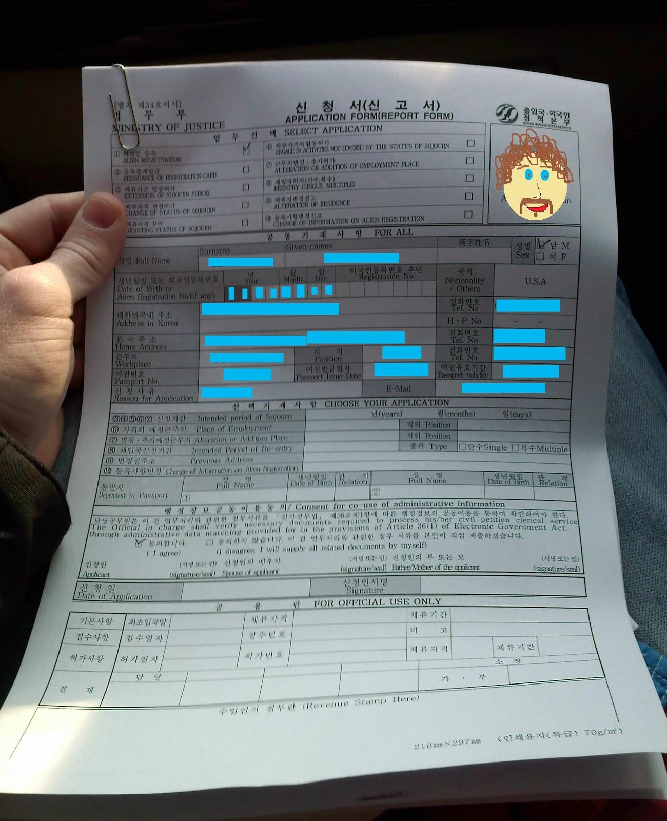 Attack of the killer korea health check for foreign visa for Registrator health check