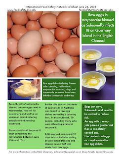 Food Safety Infosheets: Raw eggs in mayonnaise blamed as ...