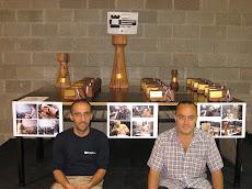 Los trofeos y sus creadores