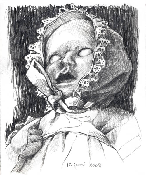 easy creepy pencil drawings - photo #38