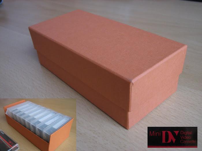 Caja para Mini DV