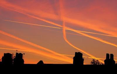 brainwashing uk guardian photo of vapor trails