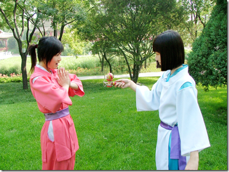 Spirited Away cosplay : Chihiro and Haku