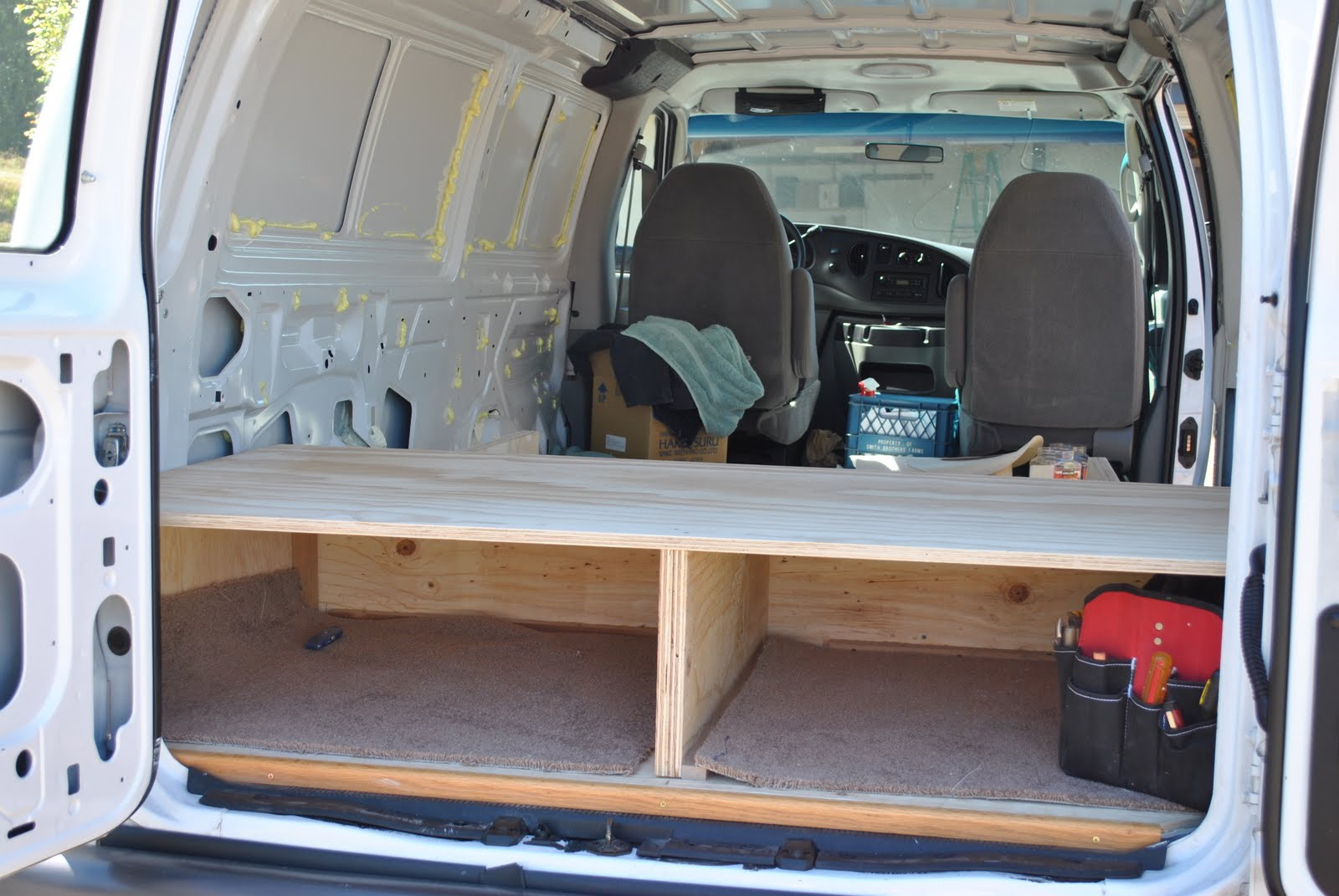 Converted Vans Ford Van Conversion