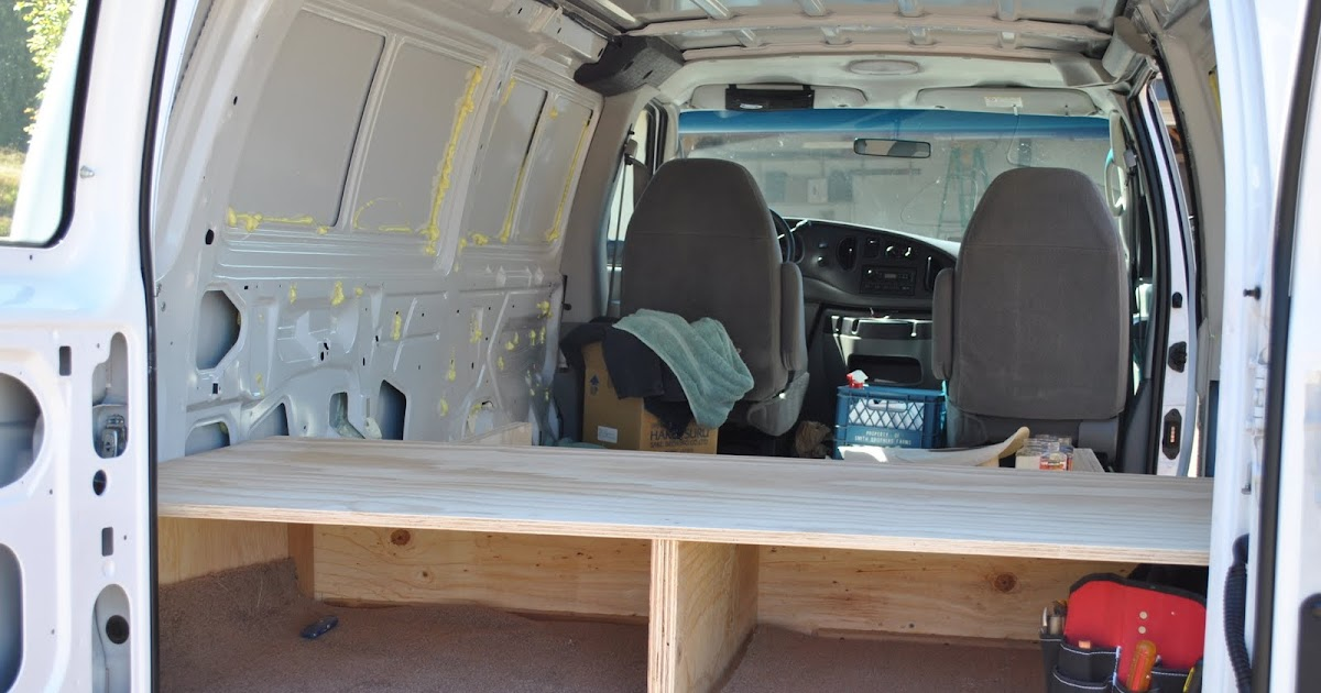 Ford Van Conversion Making Of The Bed