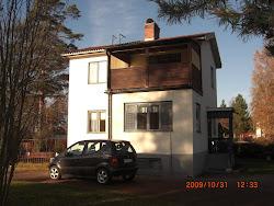 Vårt hus som det såg ut från början.