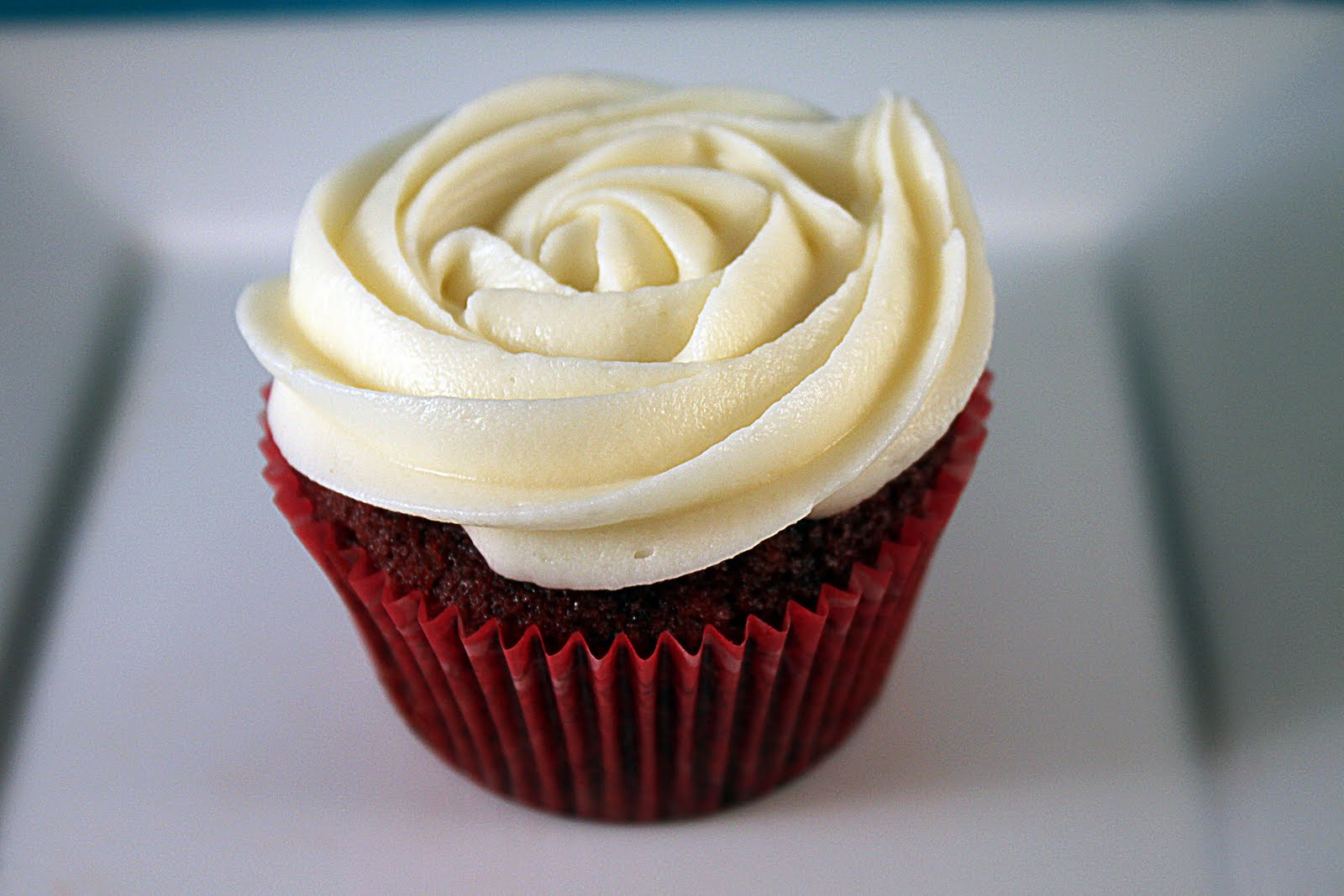 The red velvet was simple, my favorite Martha Stewart recipe . They ...