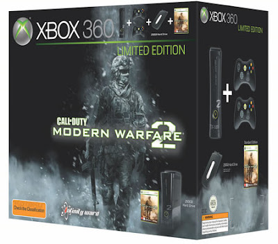 Xbox 360  - 250 GB for Modern Warfare